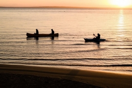 Guided Canoe Paddle