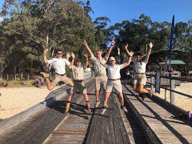 Kingfisher Bay Resort Rangers