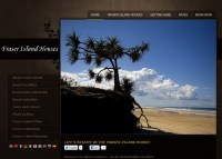 Fraser Island Houses Website