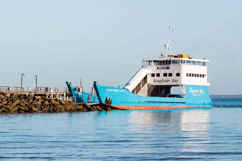 Ferry & Barges | Kingfisher Bay Resort | Fraser Island